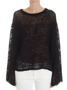 See by Chloé - Black openwork top