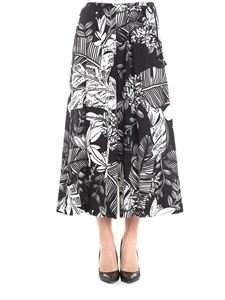 See by Chloé - Black floral trousers
