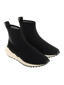 Moschino - Black ankle boots with logo