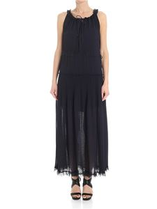 See by Chloé - Blue pleated dress