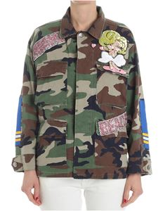 L' Edition - Camouflage Miami Beach field jacket