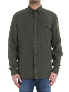Z Zegna - Green shirt with pockets
