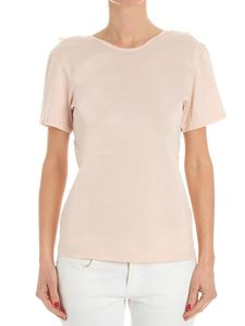 Jucca - Pink open back T-shirt