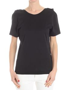 Jucca - Black open back T-shirt