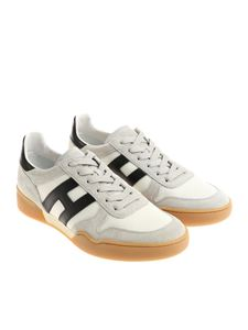 Hogan - Gray and white H357 sneakers