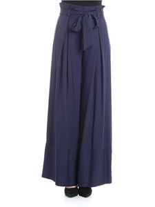 KI6? Who are you? - Blue palazzo trousers