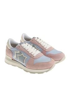 Atlantic Stars - Pink and light blue Gemma sneakers