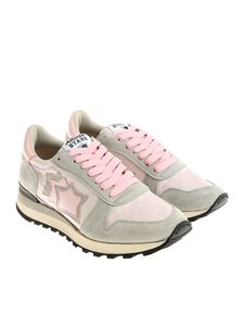 Atlantic Stars - Pink and gray Alhena sneakers