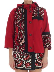 Valentino - Red embroidered jacket