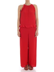 Red Valentino - Red jumpsuit