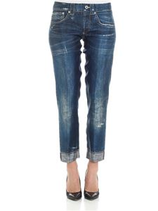 Dondup - Jeans printed Echinacea trousers
