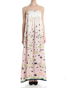 Erika Cavallini Semi-couture - Ivory floral Ivy Julienne dress