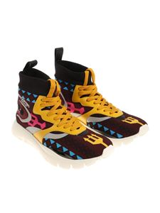 Valentino - Multicolor Heroes Tribes sneakers