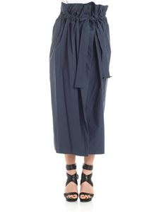 Erika Cavallini Semi-couture - Dark blue Loretta skirt