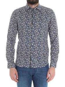 PS by Paul Smith - Blue floral shirt