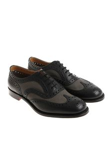 Church's - Blue and gray Burwood shoes