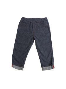 Moncler Jr - Jeans with turn-up