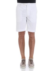 Hackett London - White Core Amalfi bermuda