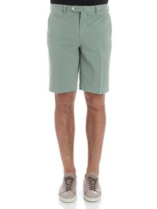 Hackett London - Green Core Amalfi bermuda