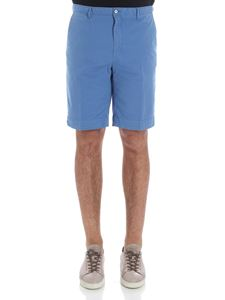 Hackett London - Light blue bermuda