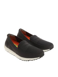 Swims - Grey Breeze Leap Knit Penny moccasins
