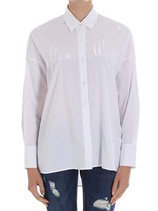 White embroidered shirt The Editor Cheap Sale Footlocker Sale Pay With Paypal Upt63ip0