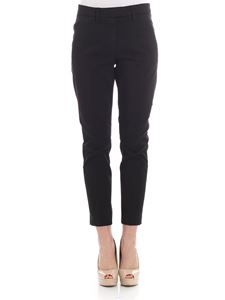 Dondup - Black Top chino trousers