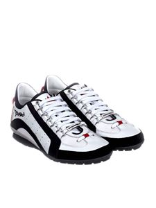 Dsquared2 - White leather 551 sneakers
