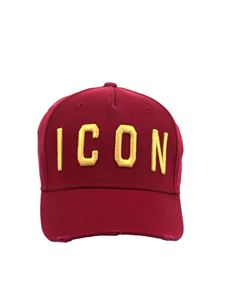 Dsquared2 - Red Icon baseball hat