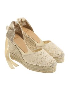 Castaner - Cream colored Carina espadrilles