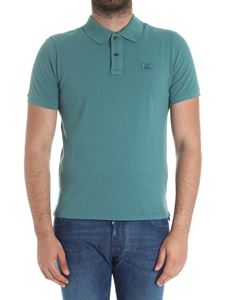 CP Company - Teal colored polo