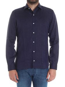 Barba - Blue linen shirt