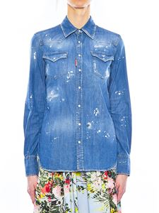 Dsquared2 - Vintage effect denim shirt