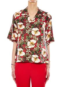 Dsquared2 - Red floral shirt