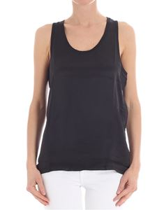 Majestic Filatures - Black linen top