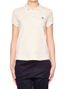 Moncler - Pink cotton polo