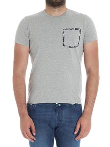 Woolrich - Gray t-shirt with pocket