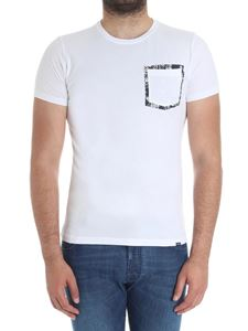 Woolrich - White t-shirt with pocket