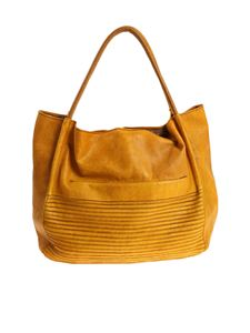 MAJO - Saffron-color shopper bag