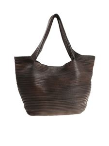 MAJO - Dark brown Bomp bag
