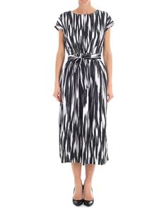 Woolrich - White, gray and black dress