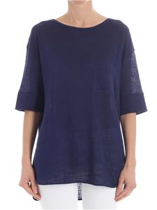 Woolrich - Blue t-shirt with pocket