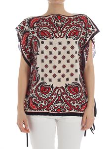Red Valentino - Beige floral print top