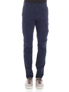 Stone Island - Blue cargo trousers