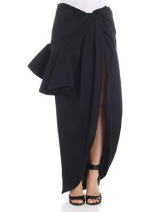 Jacquemus - Black Sol skirt