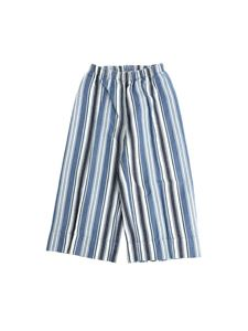 Il gufo - Blue and light blue striped trousers