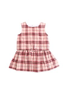 Burberry Children - Check dress in shades of pink