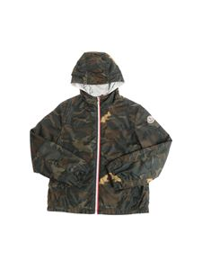 Moncler Jr - New Urville camouflage jacket