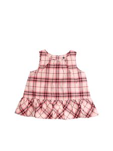 Burberry Children - Pink Check top