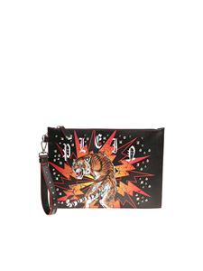 Philipp Plein - Black Want clutch bag